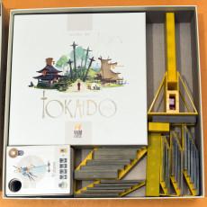 Tokaido boardgame organizer