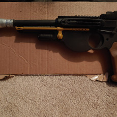 Picture of print of Mandalorian Blaster