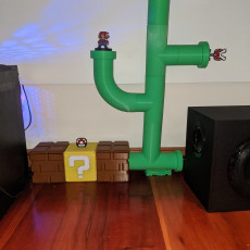 Mario Pipe Theme Cable Runner