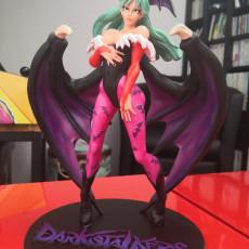 Picture of print of Morrigan - DarkStalkers - 30cm Model - Printed Obsession