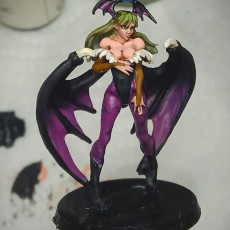 Picture of print of Morrigan - DarkStalkers - 30cm Model - Printed Obsession