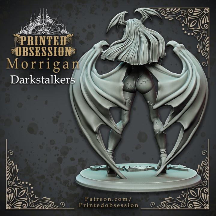 Morrigan - DarkStalkers - 30cm Model - Printed Obsession