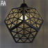 Platonic Forest Lamp Shade image