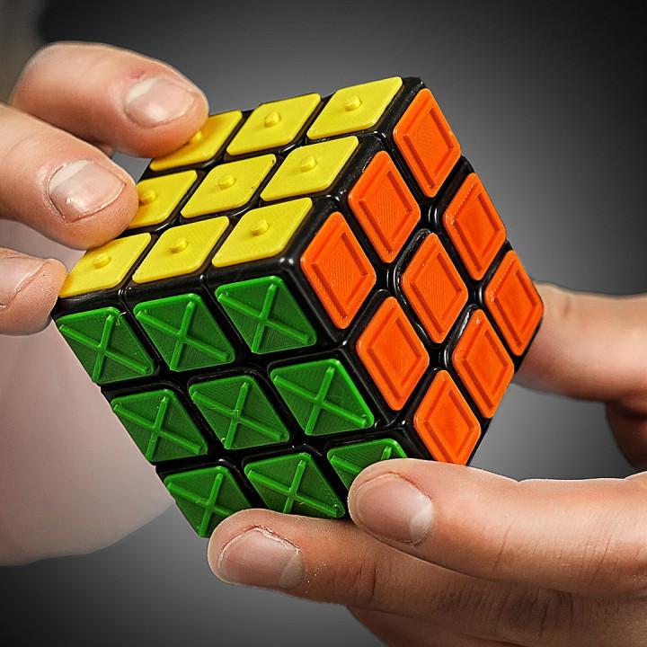 Rubik s cube for blind