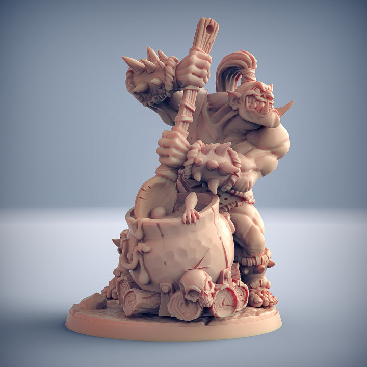 COMPLETE Ogre Marauders (presupported)