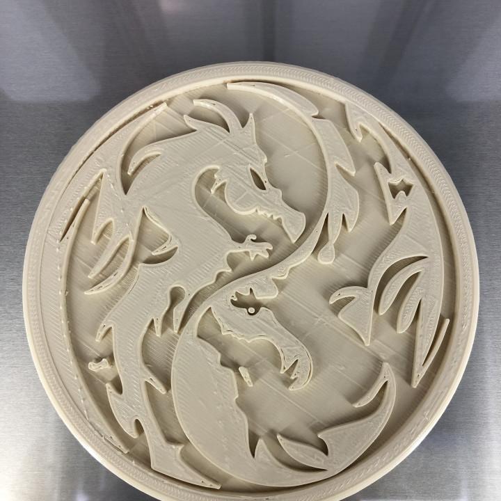 Drinkcoaster 'dragon v3'
