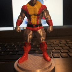 Picture of print of Colossus - X-men