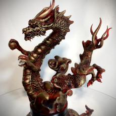 Picture of print of Chinese Dragon