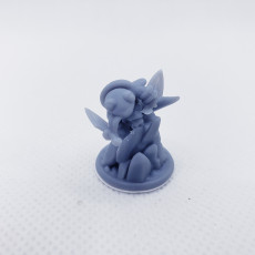 Picture of print of Stabby the Salamander