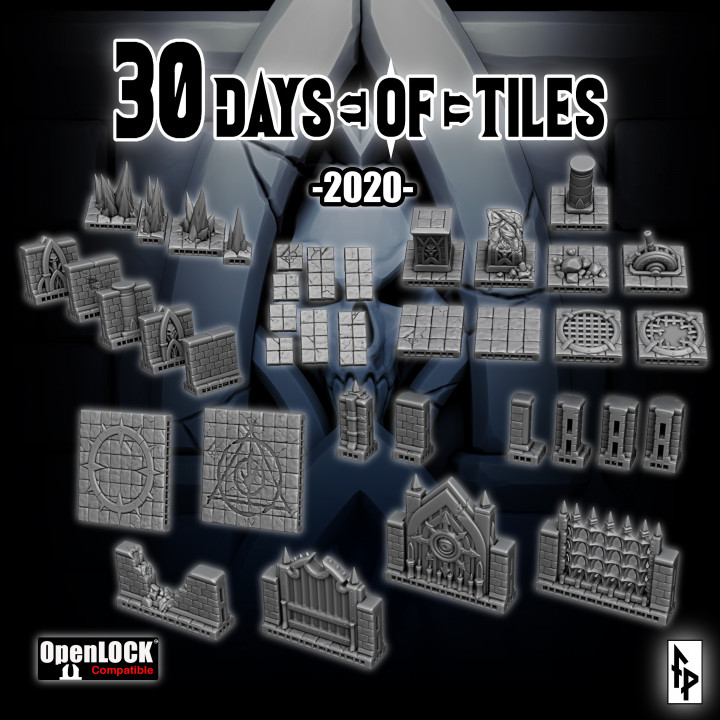 30 Days of Tiles 2020's Cover
