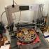 Tourbillon Mechanica - Tourbillon Escapement Mechanical Clock (Assembly guide pdf in description) print image