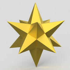 Christmas star easy print