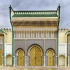 Royal Palace Gate - Fes, Morocco image