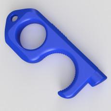 Door opener for keychain