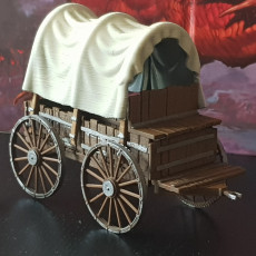 Picture of print of Covered Wagon