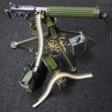 Accessories for Vickers Maxim Machinegun - scale 1/4