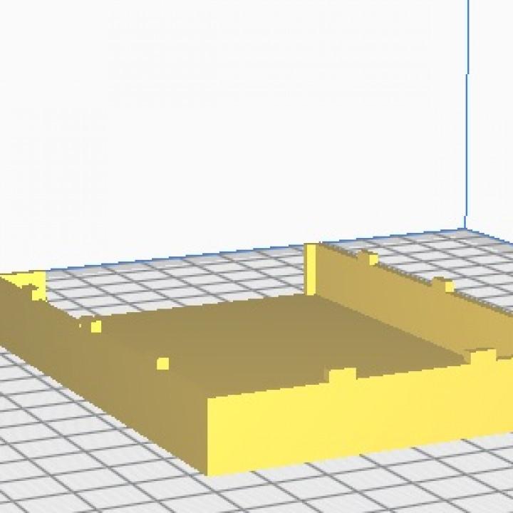 HDD enclosure box