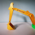 Caterpillar pelleteuse mécanique image