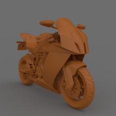 Superbike  2011-2015 3D Printable Model
