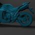 Sport Bike R1 1000 for 3D Print  (2009-2014) image