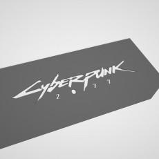 Backplate Cyberpunk GTX 1050Ti