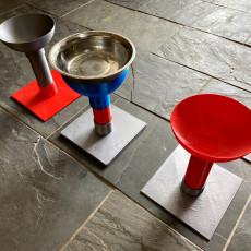 Raised Dog Bowl Pedestal