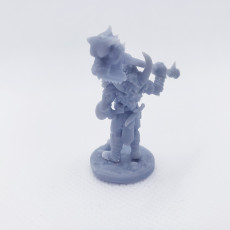 Picture of print of Vaultamir Viking Barbarian - Presupported