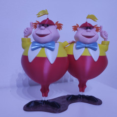 Picture of print of Tweedledee and Tweedledum