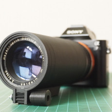 3D Printed Photography Lens Mechanism for Projector Lens