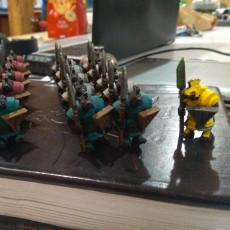 Picture of print of Ratmen Soldiers