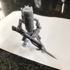 Picture of print of PZM-7 Smialy (IronHarvest Fan Art)