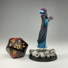 Picture of print of Mindflayer monster miniature