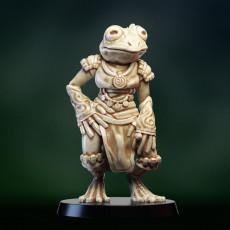 Frogfolk girl