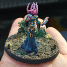 Picture of print of Mindflayer monster creature