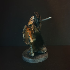 Picture of print of Fantasy medieval knight warrior