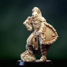 Fantasy medieval knight warrior