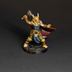 Picture of print of Thor god viking barbarian