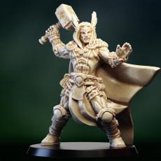 Thor god viking barbarian