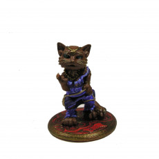 Picture of print of Catfolk courtesan girl