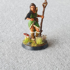 Picture of print of Muriel, Druid of the Plains