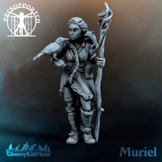 Muriel, Druid of the Plains