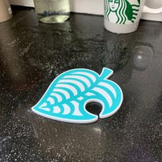 Leaf Coaster - from Animal Crossing