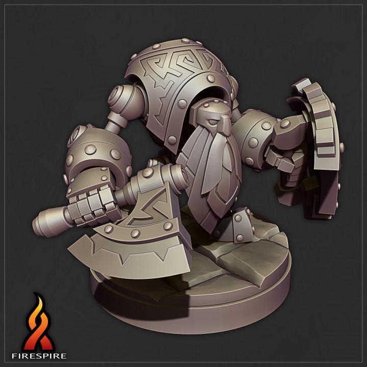 Dwarf Golem