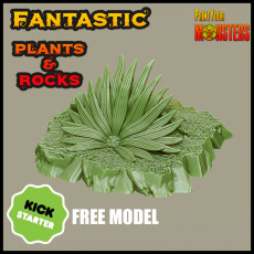 KICKSTARTER- Fantastic Plants and Rocks