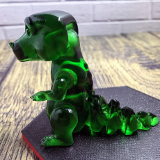 Picture of print of Ar-T-Rex