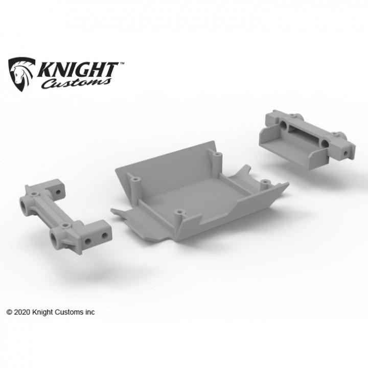 Tamiya CC-02 chassis upgrade parts set