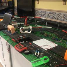 Curve Start Line Ninco Digital rfid arduino Mito3D