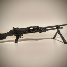 Picture of print of Enfield GPMG - scale 1/4