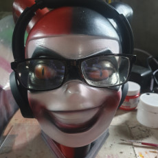 Picture of print of Harley Quinn Headphone Stand