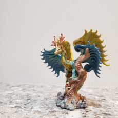 Picture of print of Eirvu, Dragon of the Fae